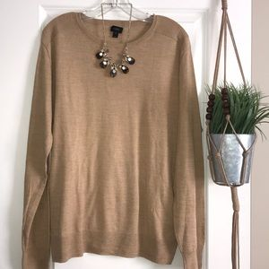 J Crew Crewneck Long Sleeve Sweater